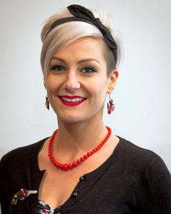 Hairdresser stylist Aimee